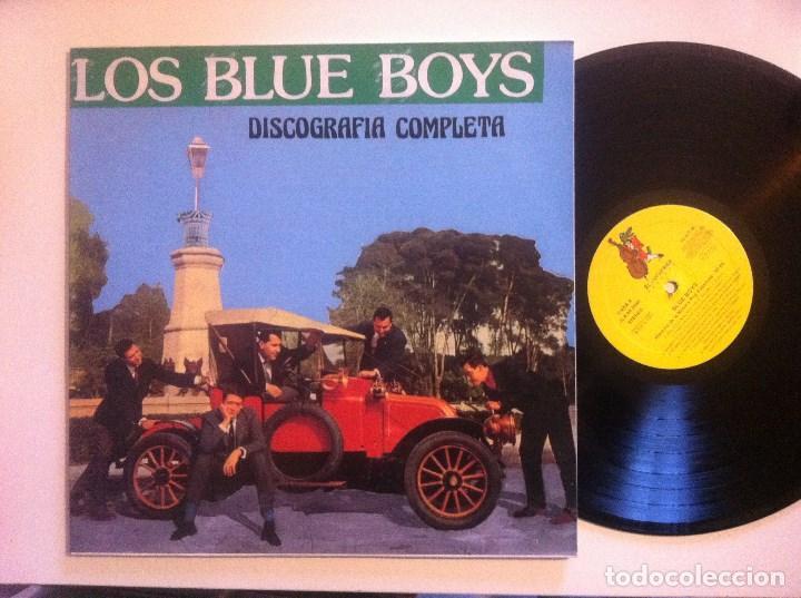 LOS BLUE BOYS - DISCOGRAFIA COMPLETA - LP 1991 - COCODRILO (Música - Discos - LP Vinilo - Grupos Españoles 50 y 60)