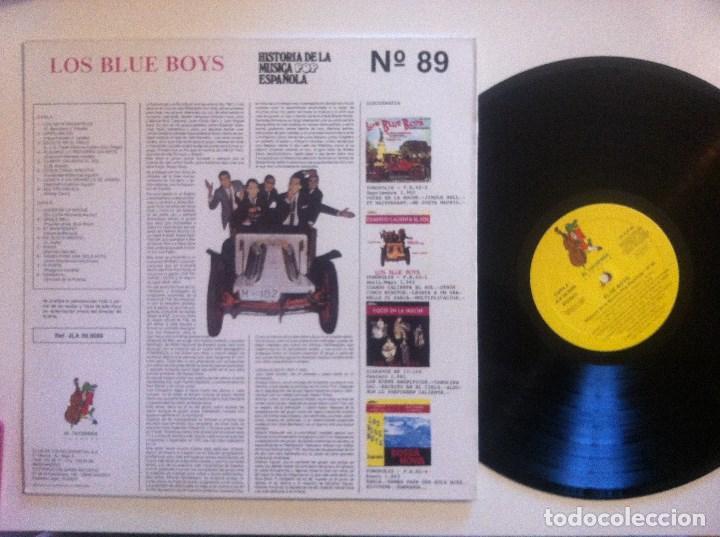 Discos de vinilo: LOS BLUE BOYS - discografia completa - LP 1991 - COCODRILO - Foto 2 - 148966482