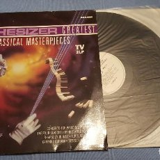 Discos de vinilo: SYNTHESIZER GREATEST THE CLASSICAL MASTERPIECES TV 2LP. Lote 148970102