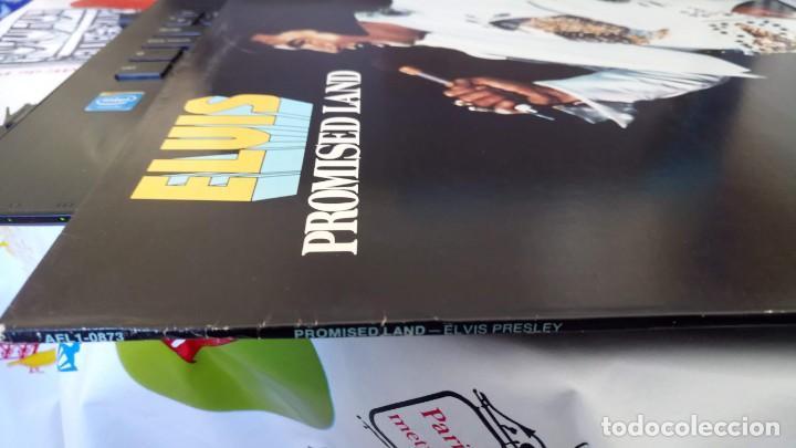 Discos de vinilo: ELVIS PRESLEY - PROMISED LAND - LP - AFL1-0873 RCA VICTOR - USA - Foto 6 - 148970622