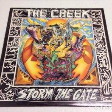 Discos de vinilo: THE CREEK - STORM THE GATE --HEAVY HARD ROCK AOR--EDICION UK 1989. Lote 148978266