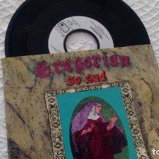 Disques de vinyle: SINGLE (VINILO) DE GREGORIAN AÑOS 90. Lote 148987042