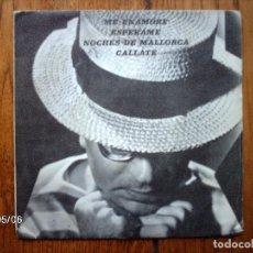 Discos de vinilo: CONJUNTO BATO - ME ENAMORE + ESPERAME + NOCHES DE MALLORCA + CALLATE. Lote 148988798
