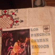 Discos de vinilo: LOS PANCHOS, CANTAN TANGOS. Lote 148989662