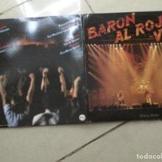 Discos de vinilo: BARÓN AL ROJO VIVO. ÁLBUM DOBLE . Lote 148991002