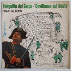 Discos de vinilo: SINGLE / JUAN PALACIOS / TANGUILLO DEL GOLPE / 1981. Lote 148998130