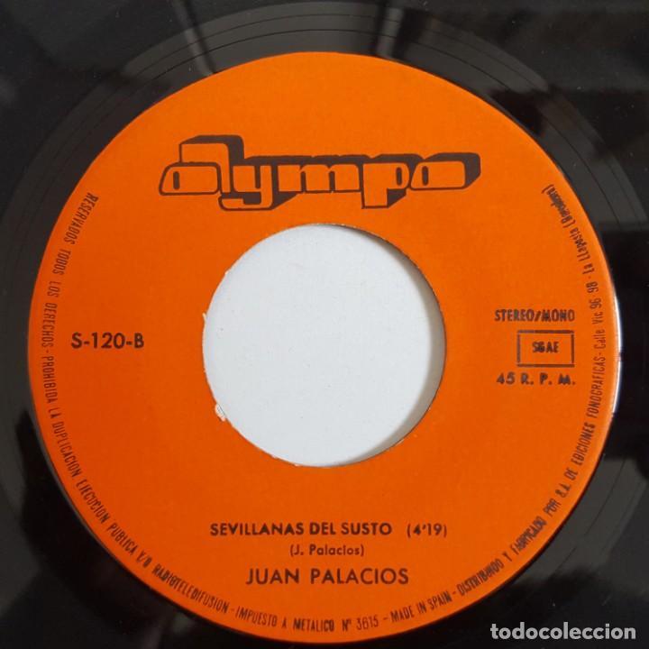 Discos de vinilo: SINGLE / JUAN PALACIOS / TANGUILLO DEL GOLPE / 1981 - Foto 4 - 148998130