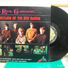 Discos de vinilo: THE ROYAL GUARDSMEN THE RETURN OF THE RED BARON LP USA 1967 PEPETO TOP. Lote 149002270