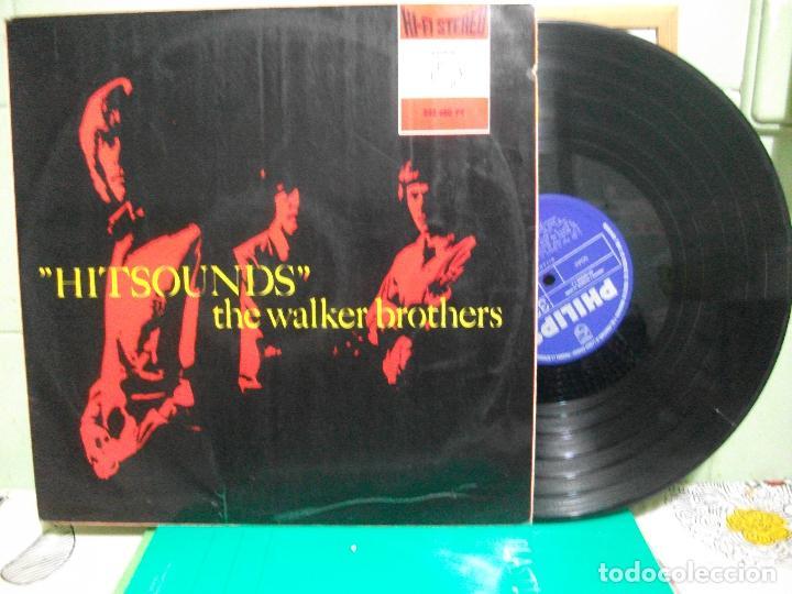 THE WALKER BROTHERS HIT SOUNDS LP SPAIN 1967 PEPETO TOP (Música - Discos - LP Vinilo - Pop - Rock Extranjero de los 50 y 60)