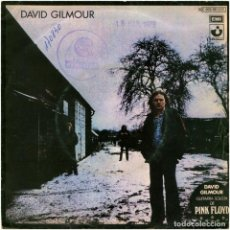 Discos de vinilo: DAVID GILMOUR (PINK FLOYD) – THERE'S NO WAY OUT OF THERE - SG SPAIN 1978 - HARVEST 10 C 006-061320. Lote 149003886