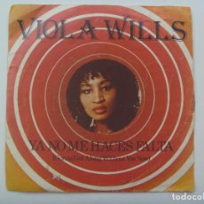 Discos de vinilo: SINGLE DE VIOLA WILLS : YA NO ME HACES FALTA ( GONNA GET ALONG WITHOUT YOU NOW), 1978. ARIOLA. Lote 149007426
