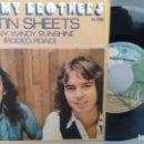 Discos de vinilo: SINGLE (VINILO) DE BELLAMY BROTHERS AÑOS 70. Lote 149011250