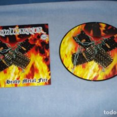 Discos de vinilo: STORMWARRIOR- HEAVY METAL FIRE PICTURE DICS. Lote 149025994