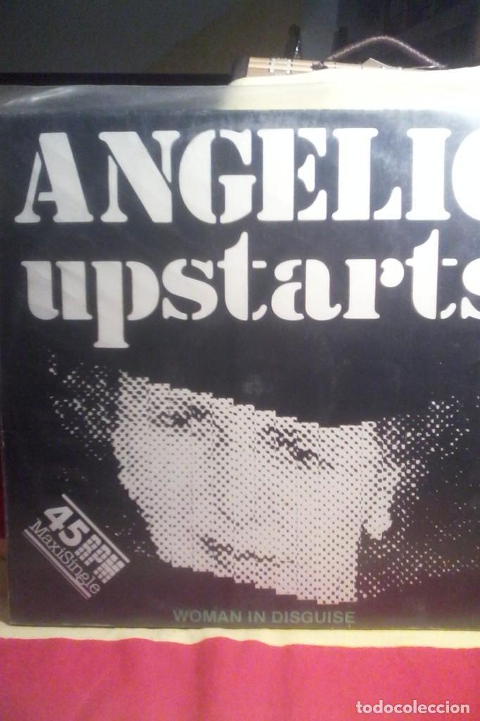 ANGELIC UPSTARTS - WOMAN IN DISGUISE . (Música - Discos de Vinilo - EPs - Punk - Hard Core)