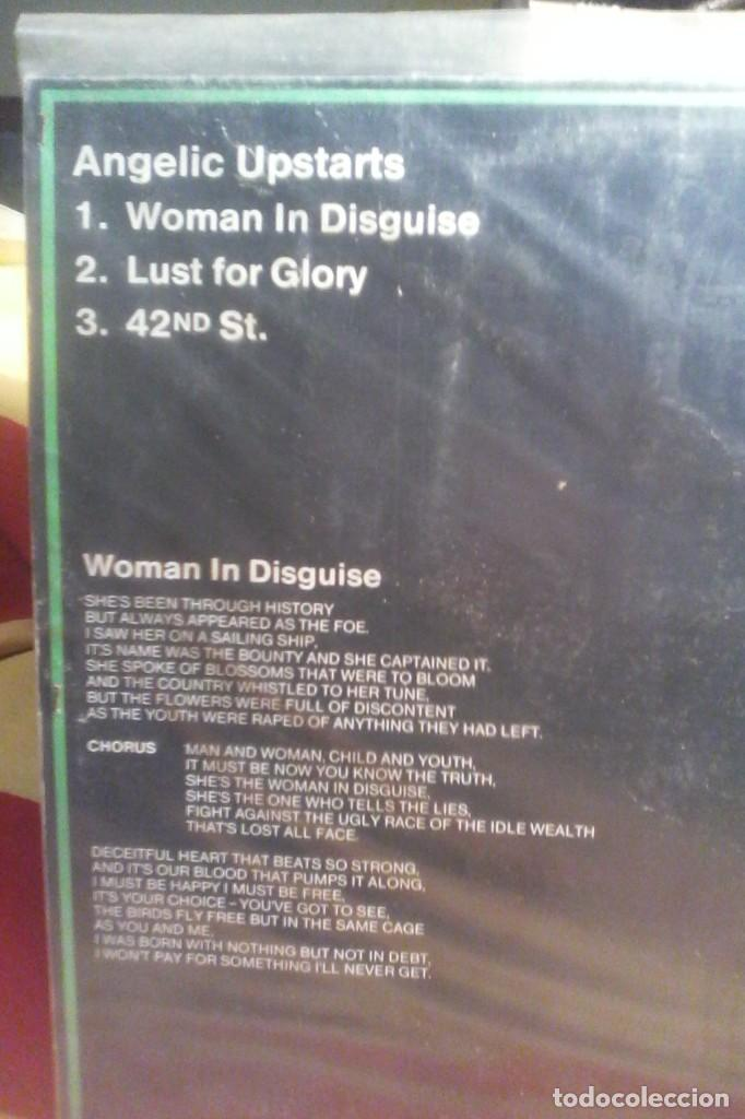 Discos de vinilo: ANGELIC UPSTARTS - WOMAN IN DISGUISE . - Foto 2 - 149028866