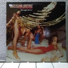 Discos de vinilo: THE RITCHIE FAMILY . Lote 149046446