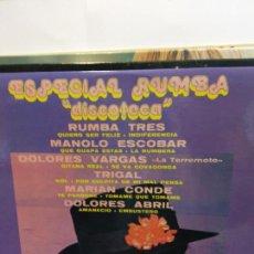Discos de vinilo: BJS.DISCO DE VINILO.LP.ESPECIAL RUMBA.BELTER.. Lote 149049050