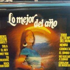 Discos de vinilo: BJS.DISCO DE VINILO.LP.LO MEJOR DEL AÑO.BELTER.. Lote 184105947