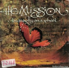 Discos de vinilo: THE MISSION - BUTTERFLY ON A WHEEL / THE GRIP OF DISEASE (SINGLE ALEMAN, MERCURY 1989). Lote 149111910