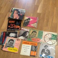 Discos de vinilo: MUSICA • CONJUNTO DE 34 DUSCOS SINGLES - SINGLE. Lote 149209744