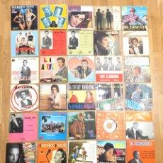 Discos de vinilo: MUSICA • CONJUNTO DE 34 DISCOS SINGLES • SINGLE. Lote 149210990