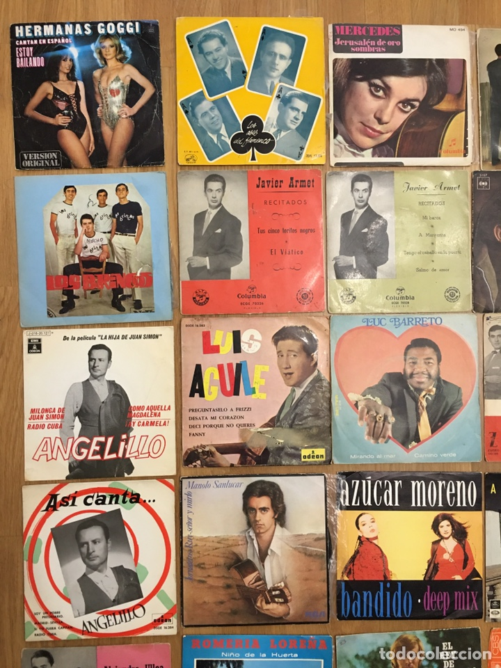 Discos de vinilo: MUSICA • CONJUNTO DE 34 DISCOS SINGLES • SINGLE - Foto 2 - 149210990