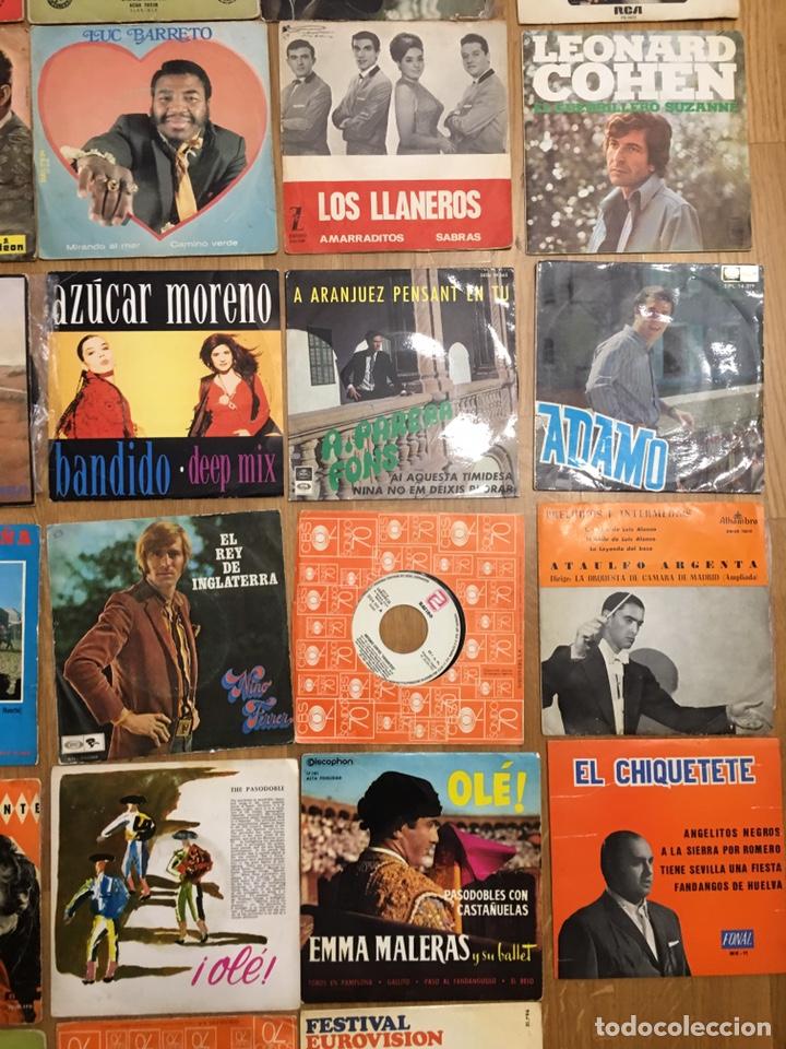 Discos de vinilo: MUSICA • CONJUNTO DE 34 DISCOS SINGLES • SINGLE - Foto 5 - 149210990
