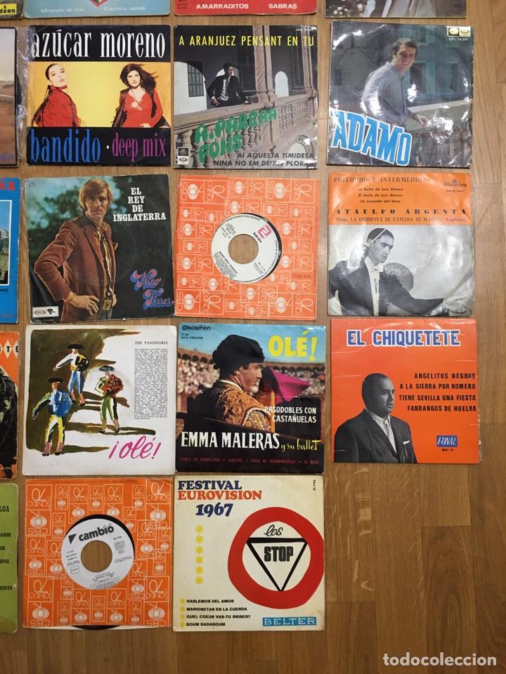 Discos de vinilo: MUSICA • CONJUNTO DE 34 DISCOS SINGLES • SINGLE - Foto 7 - 149210990