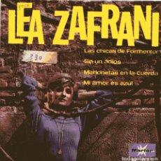 Discos de vinilo: LEA ZAFRANI / LAS CHICAS DE FORMENTOR (IV FESTIVAL DE MALLORCA) + 3 (EP 1967). Lote 149213098
