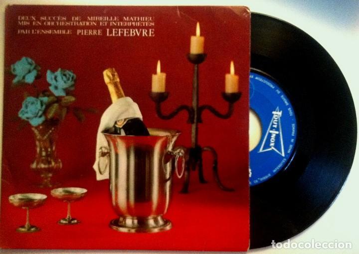 PIERRE LEFEBVRE ET SON GRAND ORCHESTRE - LA DERNIERE VALSE / UN MONDE AVEC TOI - SINGLE FRANCES (Música - Discos - Singles Vinilo - Clásica, Ópera, Zarzuela y Marchas)