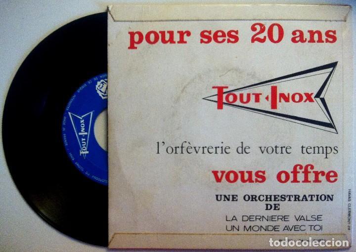Discos de vinilo: Pierre Lefebvre Et Son Grand Orchestre - La Derniere Valse / Un Monde Avec Toi - SINGLE FRANCES - Foto 2 - 149213794