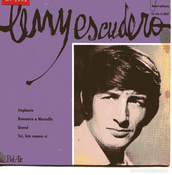 LENY ESCUDERO / STEPHANIE + 3 (EP 1964) (Música - Discos de Vinilo - EPs - Canción Francesa e Italiana)