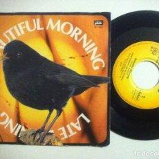 Discos de vinilo: HERBERT REHBEIN & ORCH - BEAUTIFUL MORNING / LATE EVENING - SINGLE SUIZO 1978 - PICK. Lote 149224926