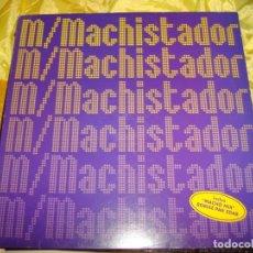 Discos de vinilo: M .- MACHISTADOR. REMIXÉ PAR ZDAR. DELABEL, 1998. EDC. FRANCIA. MAXI-SINGLE. IMPECABLE (#). Lote 149233346
