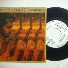 Discos de vinilo: DIONI VELAZQUEZ - ROMANTICO / REFLEJOS - SINGLE PROMOCIONAL 1983 - RCA. Lote 149234842