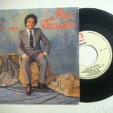 Discos de vinilo: PACO ESCUDERO - LA LLAVE / SI HUBIERA SABIDO - SINGLE PROMOCIONAL 1984 . ZAFIRO. Lote 149235446