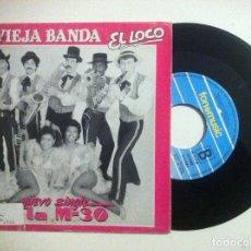 Discos de vinilo: LA VIEJA BANDA - LA M-30 / EL VALS DEL BRINDIS - SINGLE PROMOCIONAL 1988 - FONOMUSIC. Lote 149235946