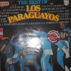 Discos de vinilo: LOS PARAGUAYOS. Lote 149236038
