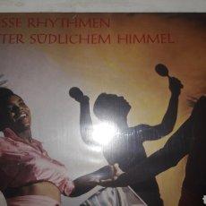 Discos de vinilo: HEISSE RHYTHMEN UNTER SUDLICHEN HIMMEL. Lote 149241346