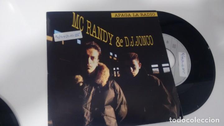 SINGLE (VINILO) DE MC RANDY & D.J. JONCO AÑOS 90 (Música - Discos - Singles Vinilo - Rap / Hip Hop)