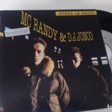 Dischi in vinile: SINGLE (VINILO) DE MC RANDY & D.J. JONCO AÑOS 90. Lote 149459564