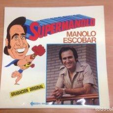 Discos de vinilo: LP MANOLO ESCOBAR / SUPEMANOLO COMO NUEVO EDITADO POR SAEF SL2046. Lote 149299474