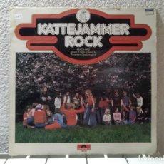 Discos de vinilo: KATTEJAMMER ROCK . Lote 149304570