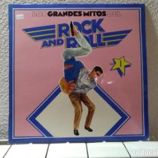 Discos de vinilo: LOS GRANDES MITOS DEL ROCK AND ROLL. Lote 149307926