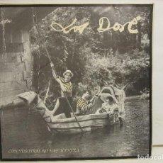 Discos de vinilo: LOS DORE - CON VOSOTRAS NO HAY MANERA - 1990 - PRIMER ALBUM - FIRMADO - VG+/VG. Lote 149308454