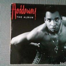 Discos de vinilo: HADDAWAY-THE ALBUM.LP HOLANDA. Lote 149325154