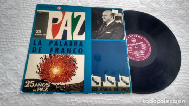 LP ( VINILO) LA PALABRA DE FRANCO AÑOS 60 (Música - Discos - LP Vinilo - Otros estilos)