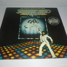 Discos de vinilo: DISCO VINILO SATURDAY NIGHT FEVER FIEBRE DEL SABADO NOCHE DOBLE LP. Lote 149333726