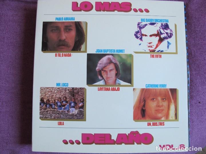 LP - LO MAS DEL AÑO VOL. 6 - VARIOS (VER FOTO ADJUNTA) (SPAIN, MOVIEPLAY 1976, PORTADA DOBLE) (Música - Discos - LP Vinilo - Solistas Españoles de los 70 a la actualidad)