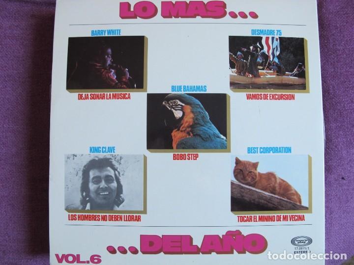 Discos de vinilo: LP - LO MAS DEL AÑO VOL. 6 - VARIOS (VER FOTO ADJUNTA) (SPAIN, MOVIEPLAY 1976, PORTADA DOBLE) - Foto 2 - 149352298